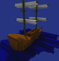 BlockArt Ship